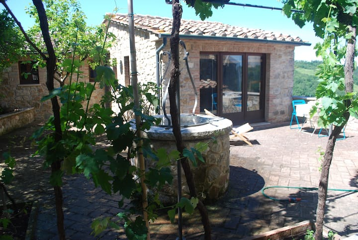 Studio apartment in Val d'Orcia