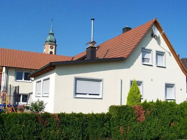 Ferienwohnung Sandhaas, (Ringsheim), Nichtraucher-Ferienwohnung 40qm, 1 Wohn-Schlafraum, max. 3 Personen
