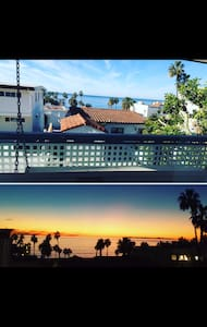 1BR Beach Apt Ocean Views & Parking - San Clemente  - Lägenhet