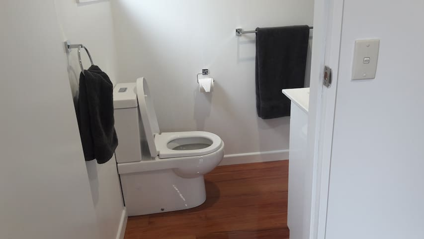 Brand new bathroom!