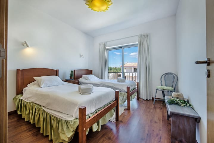 The second bedroom offers excellent singel beds very comfortable