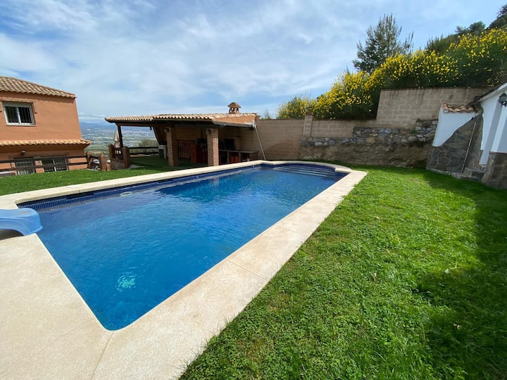 Impresionante Casa con vistas y piscina privada