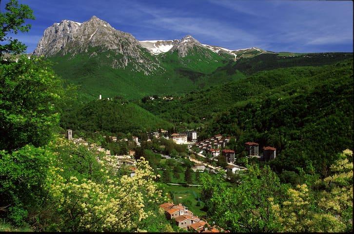 Soggiorno nel Parco Monti Sibillini - Pieve - Apartemen