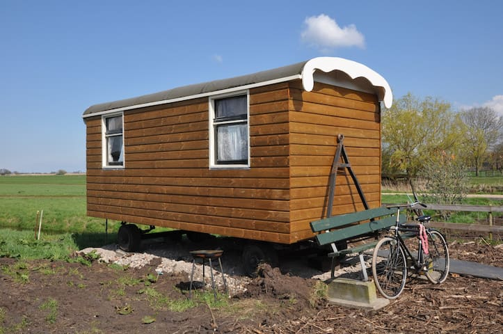 Your little appartment on wheels - Ámsterdam - Bed & Breakfast