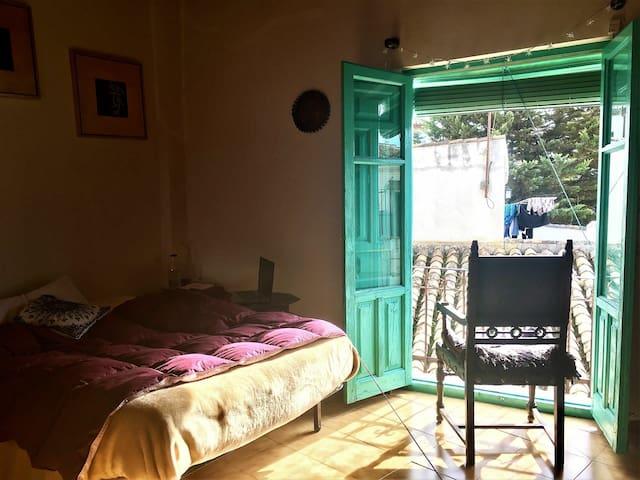 Habitación doble en casa morisca del albayzin alto - Granada - Talo