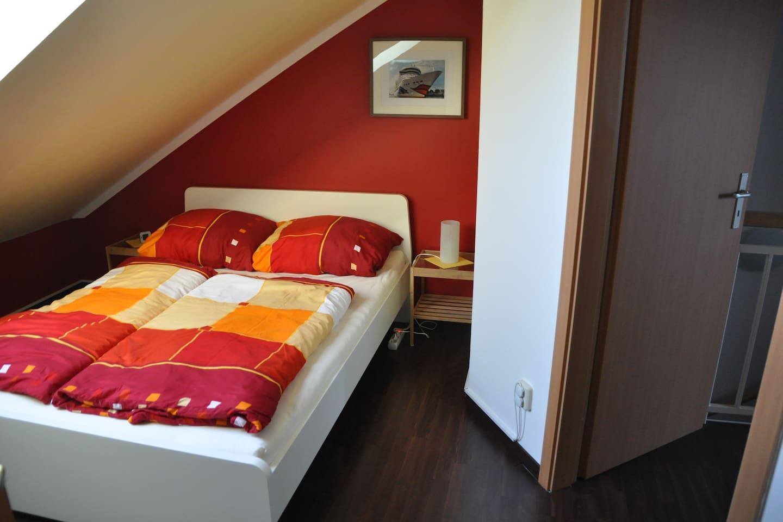 Das Bett ist 140x200cm