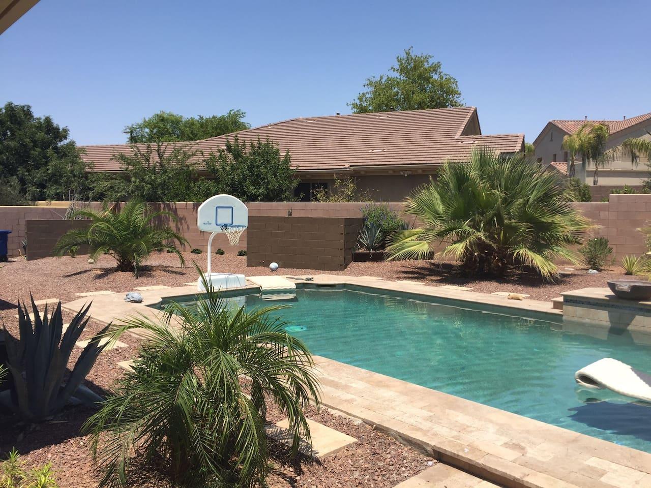 Pool - Left Side