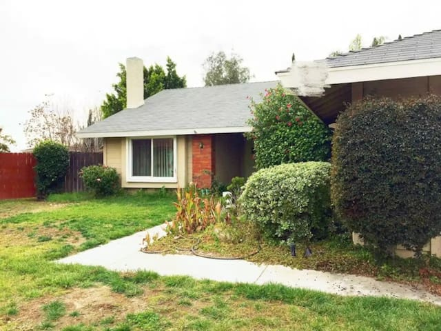 Private cozy, clean 2 bedrooms in Pomona - Pomona - House