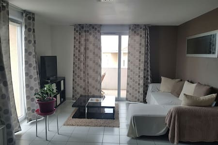 Appartement avec terrasse plein sud - Saint-Estève - Appartement