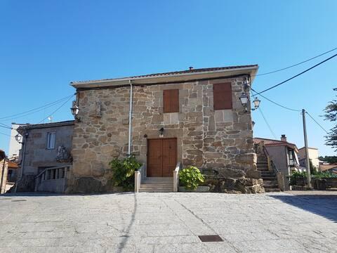 Casa San Breixo. Casa histórica de piedra.