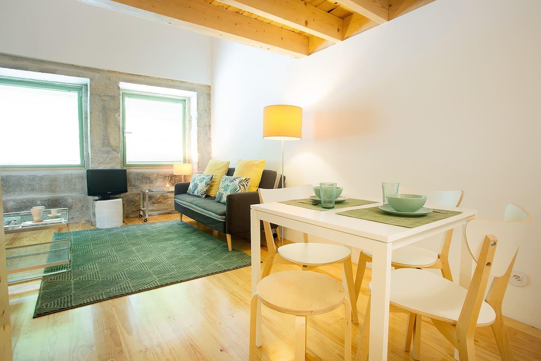 Main floor - Living area