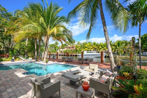 Welcome to Fort Lauderdale! This house is professionally managed by TurnKey Vacation Rentals.