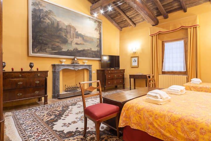 Ca'Palazzo Malvasia - Deluxe Dreibettzimmer