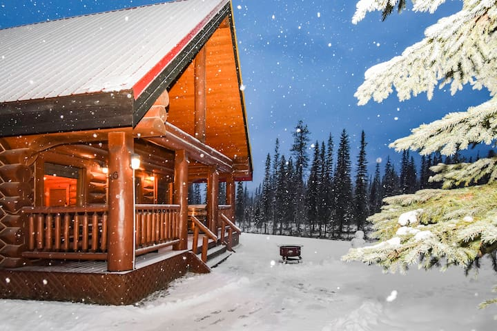☼Log Cabin Perfect Groups Wanting to Ski+Hike☼