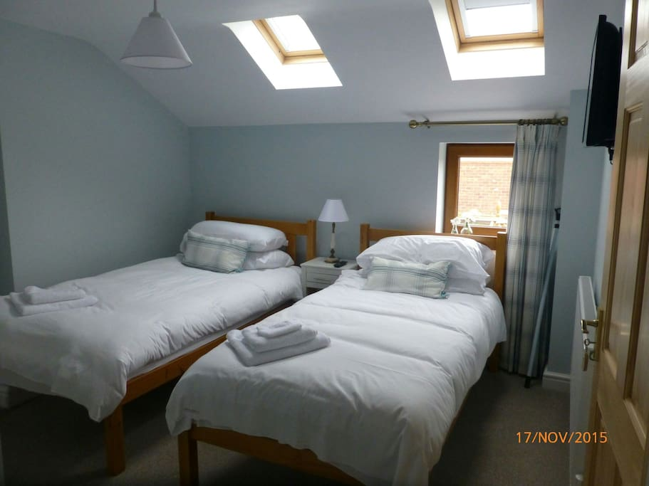 Lovely cosy twin room