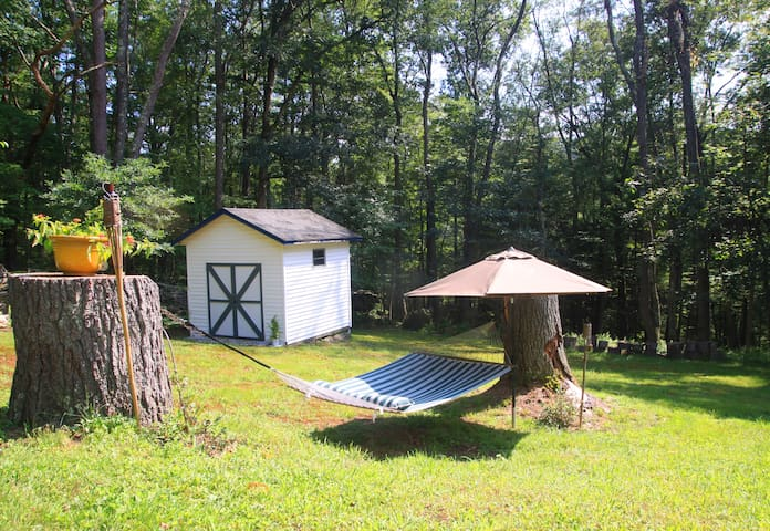 The Narrows, cosy w.Catskill comfort in the woods.