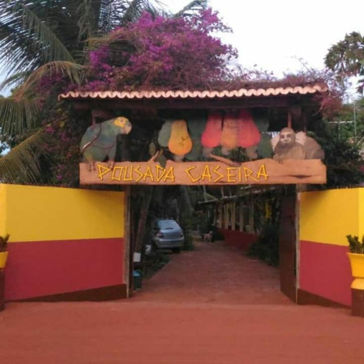 Pousada caseira Maracajaú