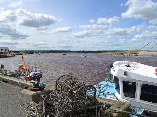 Amble harbour view to Warkworth