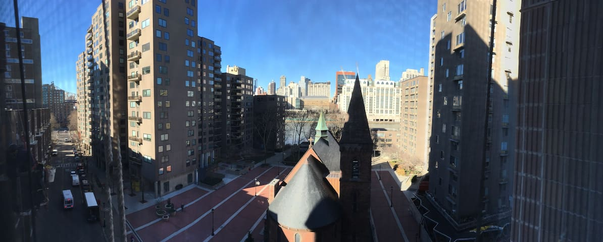 Bright & Quiet Studio w/ City View! - Nueva York - Departamento