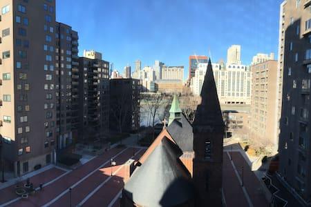 Bright & Quiet Studio w/ City View! - Nova York