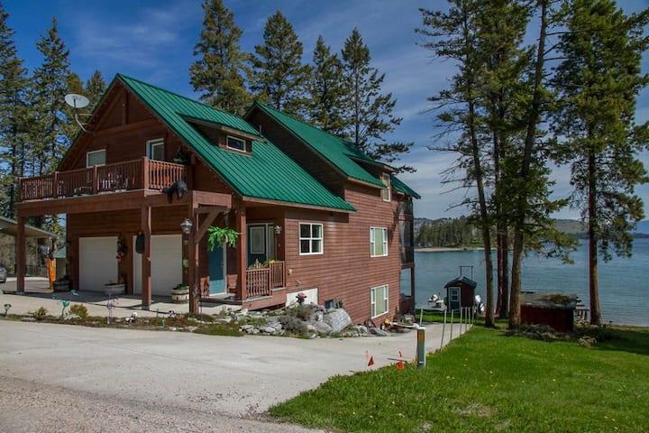 Beautiful Flathead Lake Home for Rent