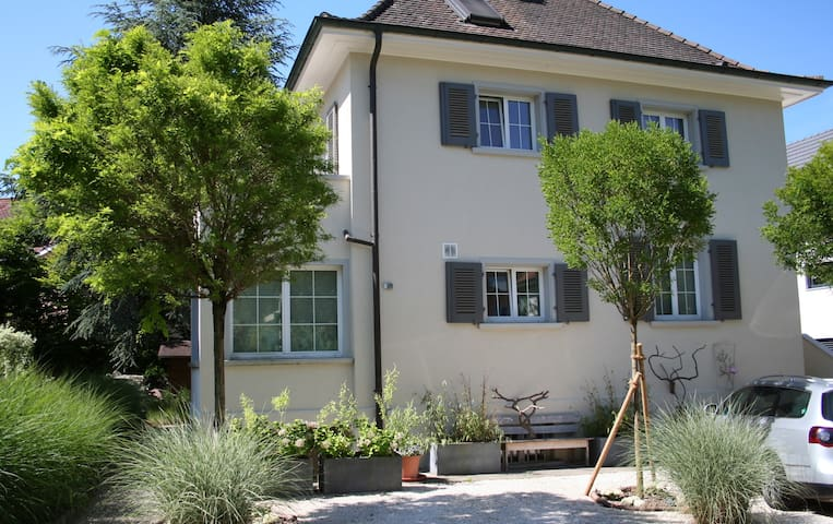 2nd top guestroom 10min from Basel - Arlesheim - Huis