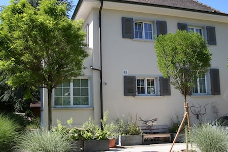 2nd top guestroom 10min from Basel - Arlesheim - 단독주택