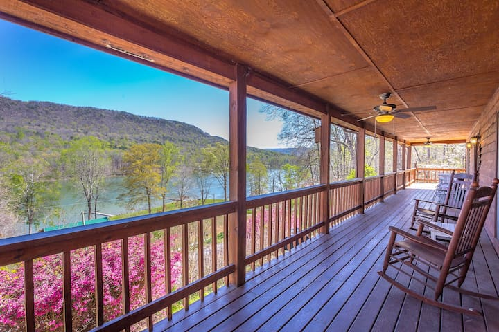 River and Mountain View Lodge - Chattanooga - Haus