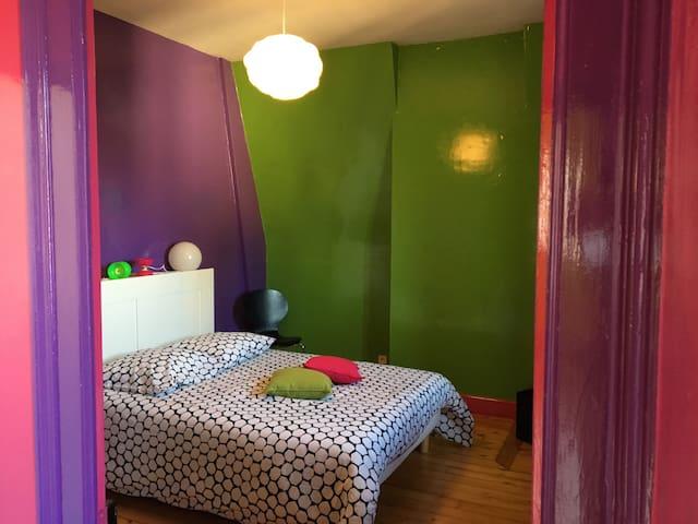 Le Nid - Chambre Diabolo - Auxerre - Bed & Breakfast