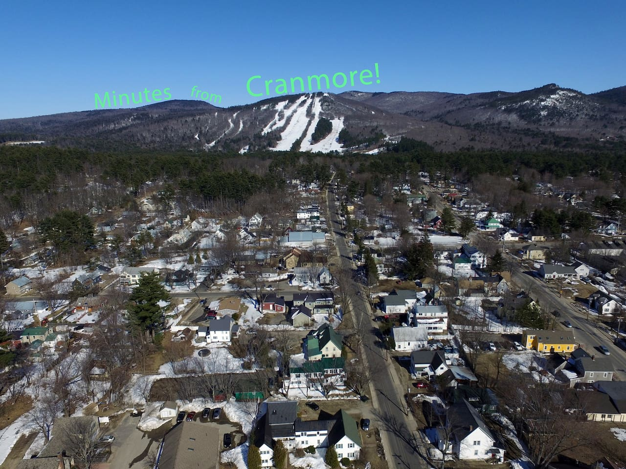 Minutes from Cranmore!
