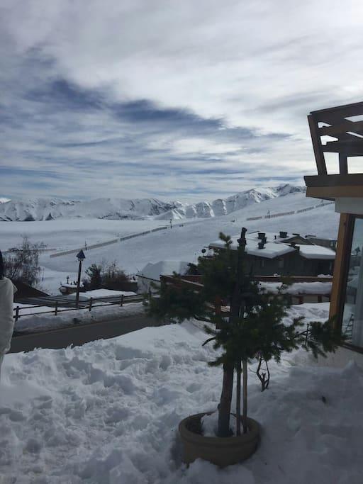 Preciosa vista al valle