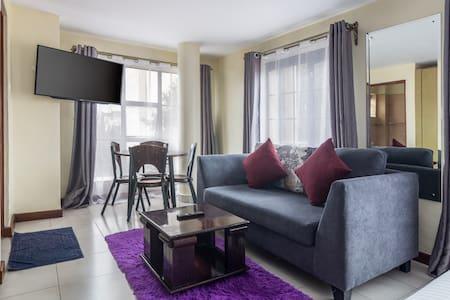 Nairobi Studio Apartment -At the heart of the city