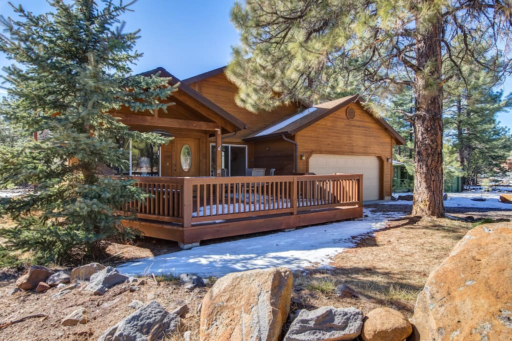 Ranch in the Pine Forest just minutes from I-17, this secluded retreat amazes