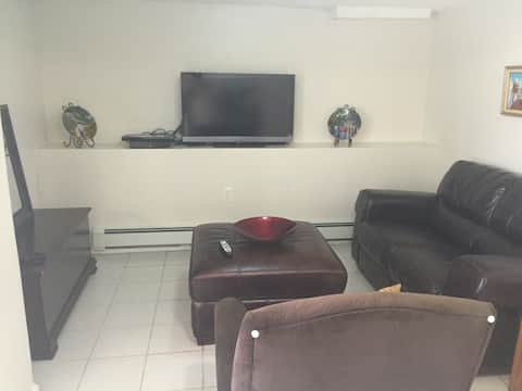 1 bedroom full apartment completely private!