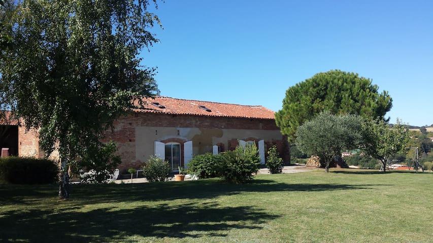 Belle chambre proche de Toulouse - Deyme - House