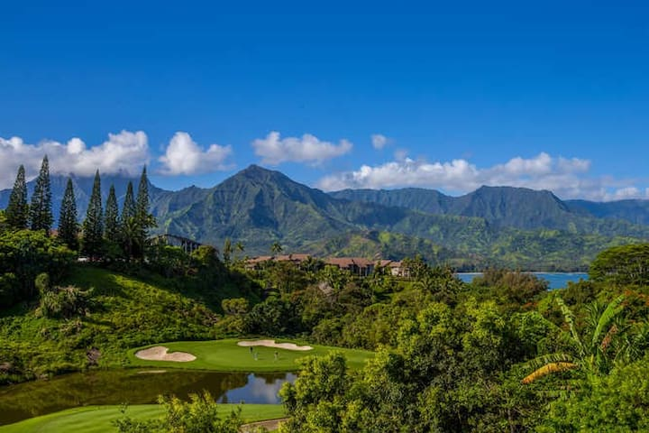 Amazing views of Hanalei Bay HBV#16