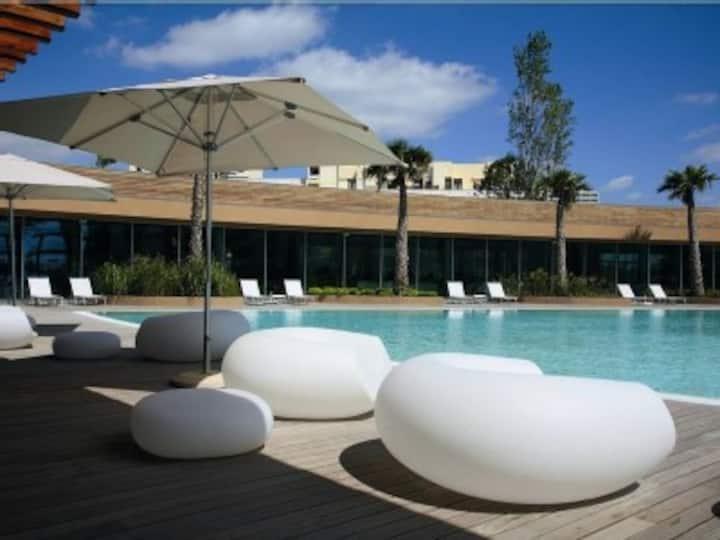 Hotel Aqualuz suíte privada
