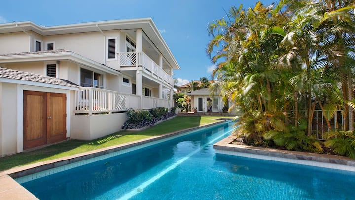 WALK TO BABY BEACH & PRIVATE POOL - GREAT FAMILY VALUE!