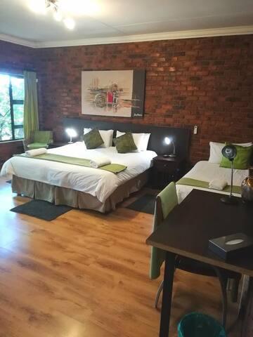 1st floor garden view 3 Sleeper