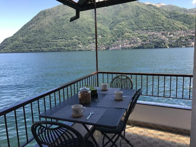 Stunning Balcony over Lake Como, Brienno.