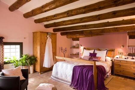Suite en masía de Finca Ecológica - Vilanant - Casa