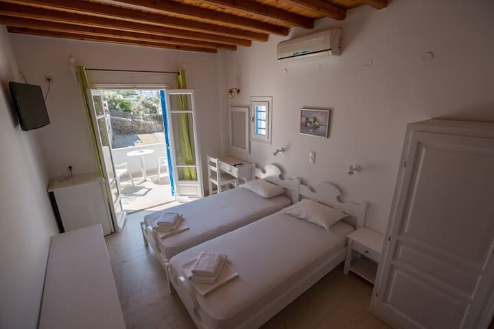 Easy double room in Mykonos town - Mikonos - Apartment