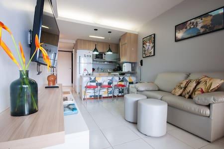 Flat Duplex na Praia Muro Alto, Nannai Residence