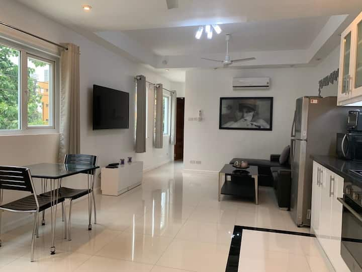 Exclusive 57 sqm one bedroom suite F with balcony