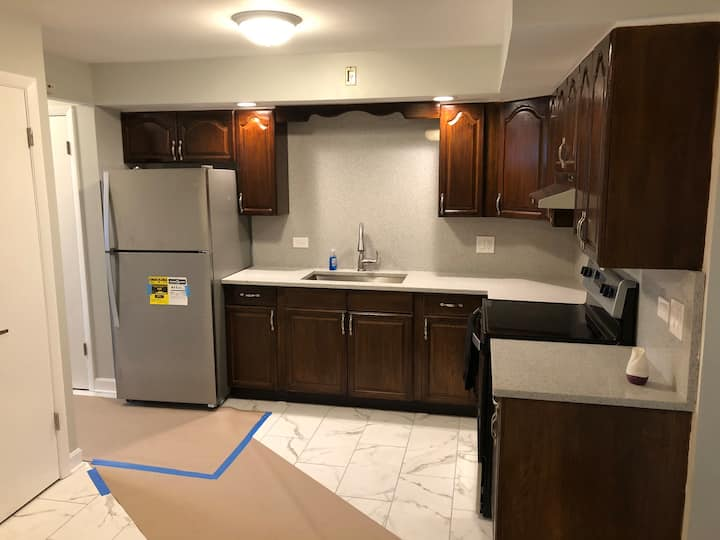 Newly renovated 1 bedroom apartment in oak park il