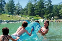 la base de loisirs aquatiques de La Norma