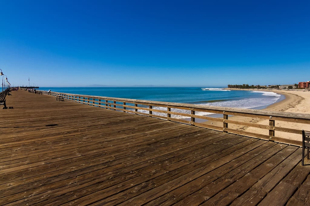 Pierpont Beach is one of the best beaches between Malibu and Santa Barbara