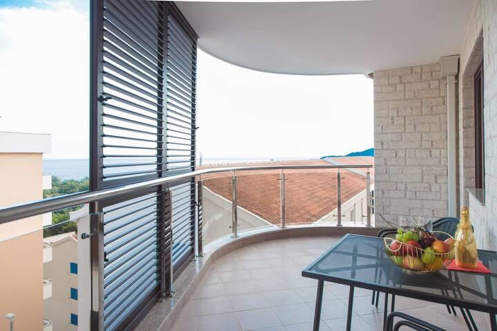 ANATOLIA Aparthotel Sea view - New Becici