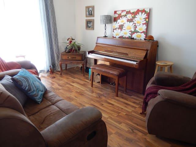 Appartement chaleureux au coeur de Bromont - Bromont - Lägenhet