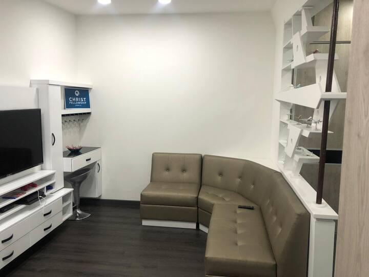 Exclusivo apartamento en Bogotá acogedor y central